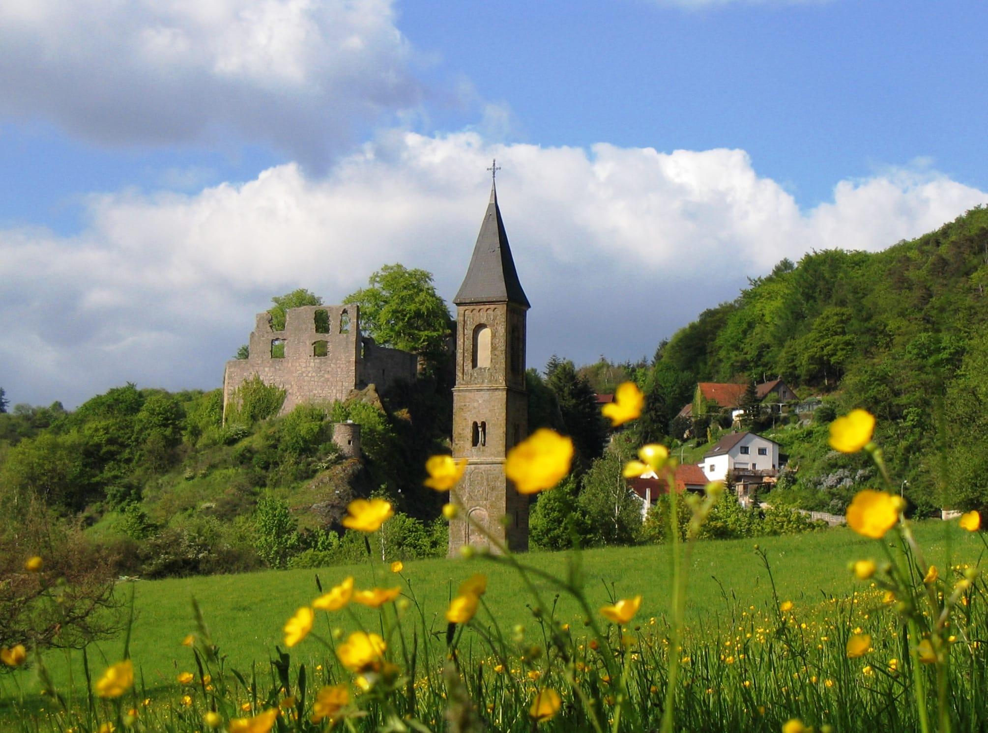 Burg Falkenstein   www.pfalz-info.com
