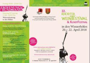 Rhodter Wein-und Kunstfestival