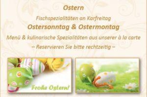 Ostern im Goldener Engel in Edesheim