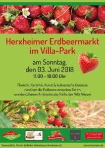 Erdbeermarkt in Herxheim