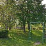 """Ein schöner Kinderspielplatz im """"Bevanda"""" in Neustadt-Hambach a.d. Weinstraße"""