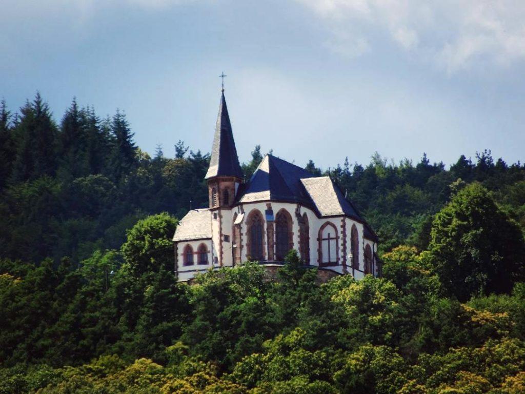 Die St.-Anna-Kapelle bei Burrweiler in der Pfalz