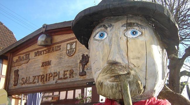 """Video Wirtshaus, Gästehaus """"Zum Salztrippler"""" in Rumbach in der Pfalz"""