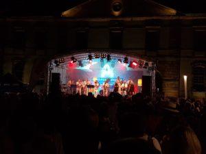 Partystimmung auf dem Landauer Sommerfest