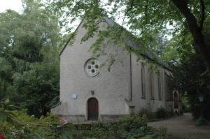 Gotische Kapelle im Adanauerpark, Foto: J. Doerr