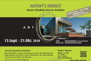 Herbstausschank Weingut Anton in Kirrweiler