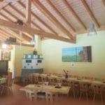 Gastraum Gräfensteinhütte in Merzalben