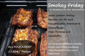 Bootshaus am Pier - Smokey Friday