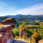 Burgruine Drachenfels bei Busenberg in der Pfalz