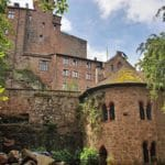 """""""Burg Berwartstein"""" bei Erlenbach bei Dahn in der Pfalz"""