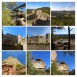 Burgruine Gräfenstein bei Merzalben in der Pfalz
