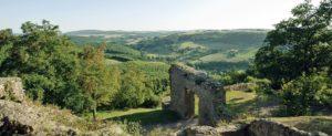 Burgruine Moschellandsburg bei Obermoschel in der Pfalz