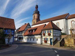 Katholische Pfarrkirche St. Michael in Rheinzabern in der Pfalz