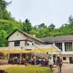 Terrassencafé an der Rietburgbahn über Edenkoben in der Pfalz
