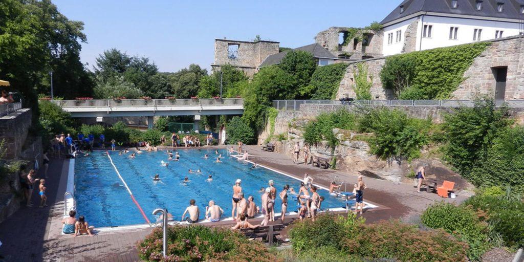 Freibad in Altleiningen