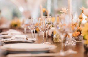 Restaurant - Tischdekoration