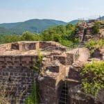 Aussichtsfelsen der Burg Tanstein bei Dahn in der Pfalz - Foto: Andreas Ott
