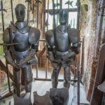 Burg Berwartstein - Ausstellung einer historischen Waffenkammer - Foto: Andreas Ott