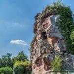 Burgruine Drachenfels bei Busenberg im Pfälzerwald - Foto: Andreas Ott