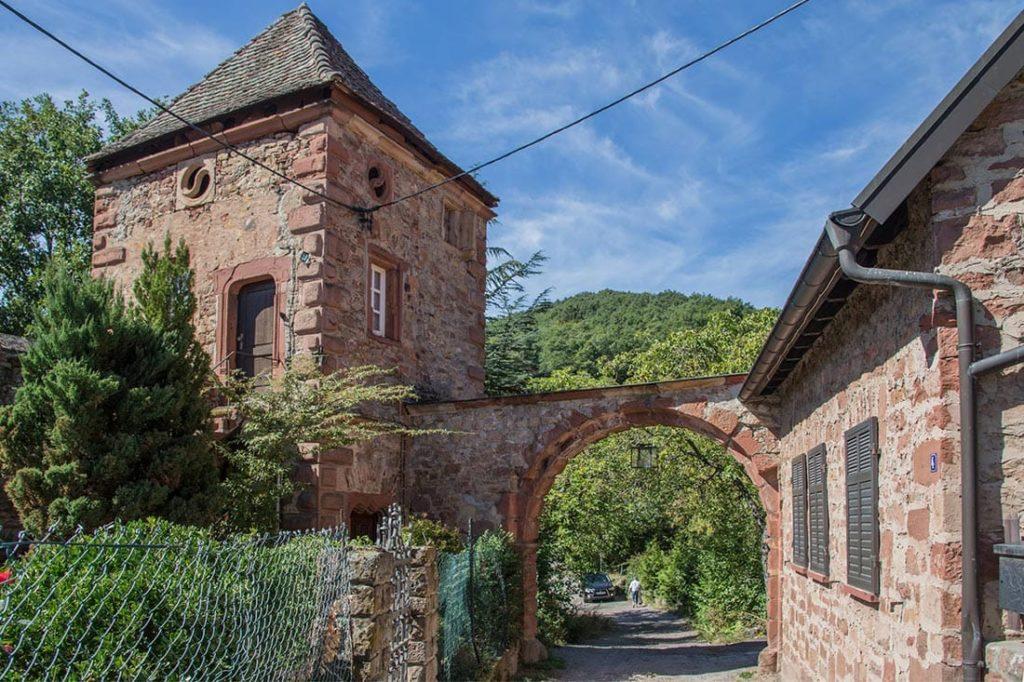 Die Kropsburg in Sankt Martin in der Pfalz - Foto: Andreas Ott
