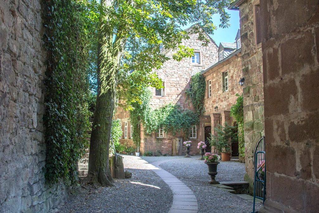 Die Kropsburg in St. Martin in der Pfalz - Foto: Andreas Ott