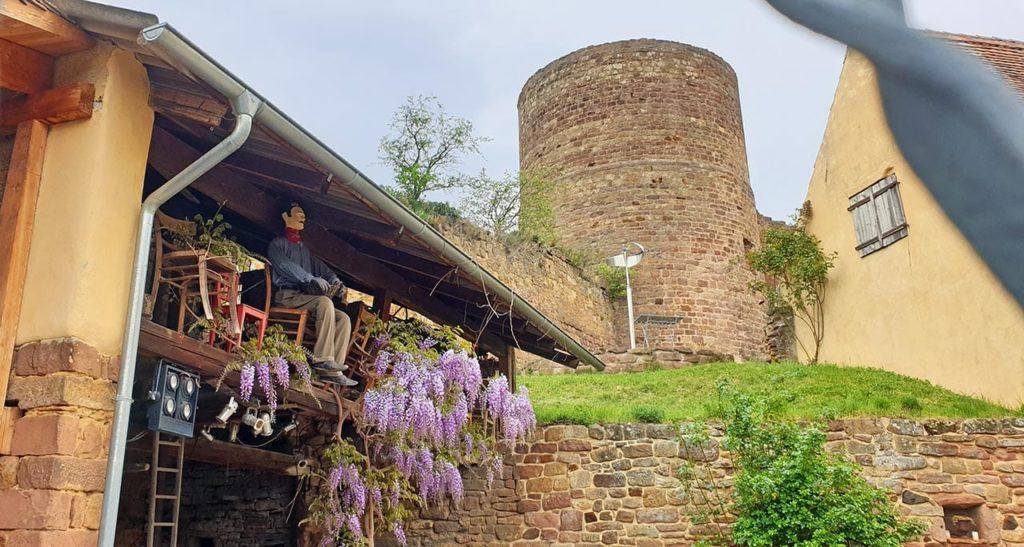 Burg Neuleiningen - Runder Turm