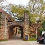 Eingang Burg Battenberg