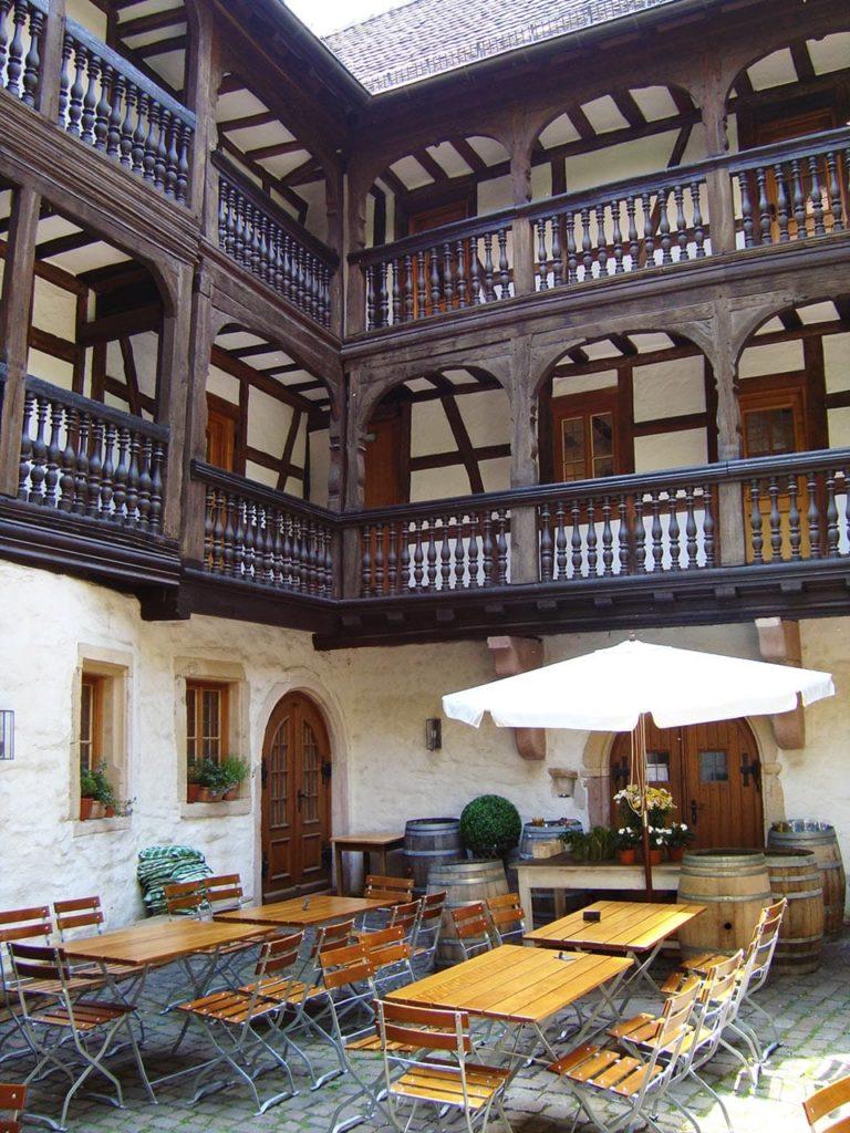 Innenhof Frank-Loebsches-Haus in Landau in der Pfalz