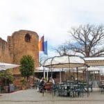 Gartenrestaurant-Terrasse Burg Neuleiningen