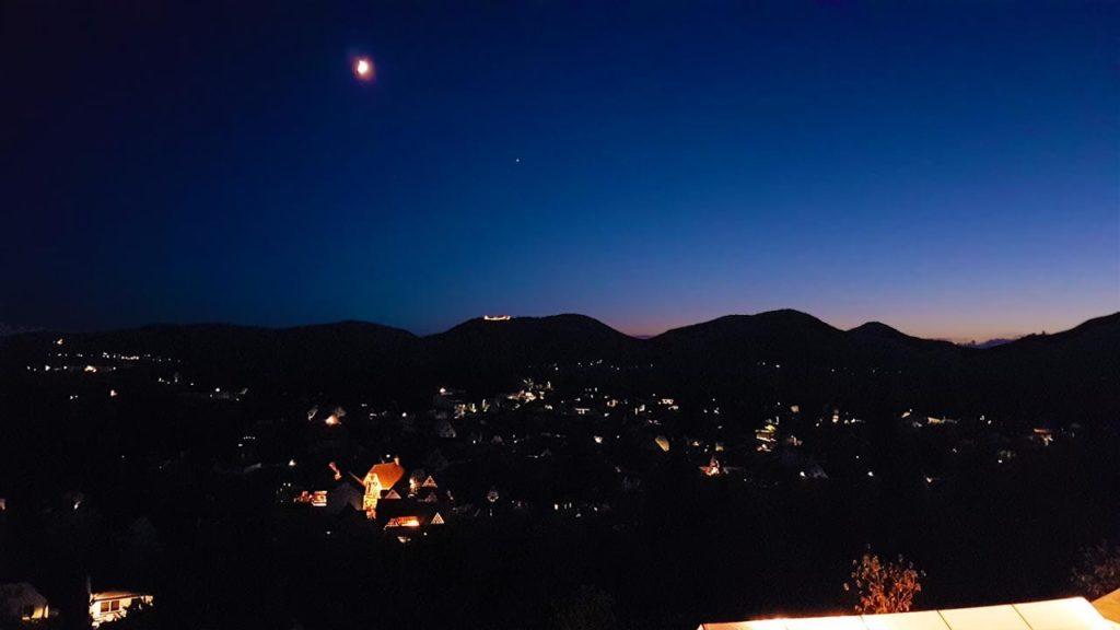 Ilbesheim in der Pfalz beim Kalmit-Weinfest