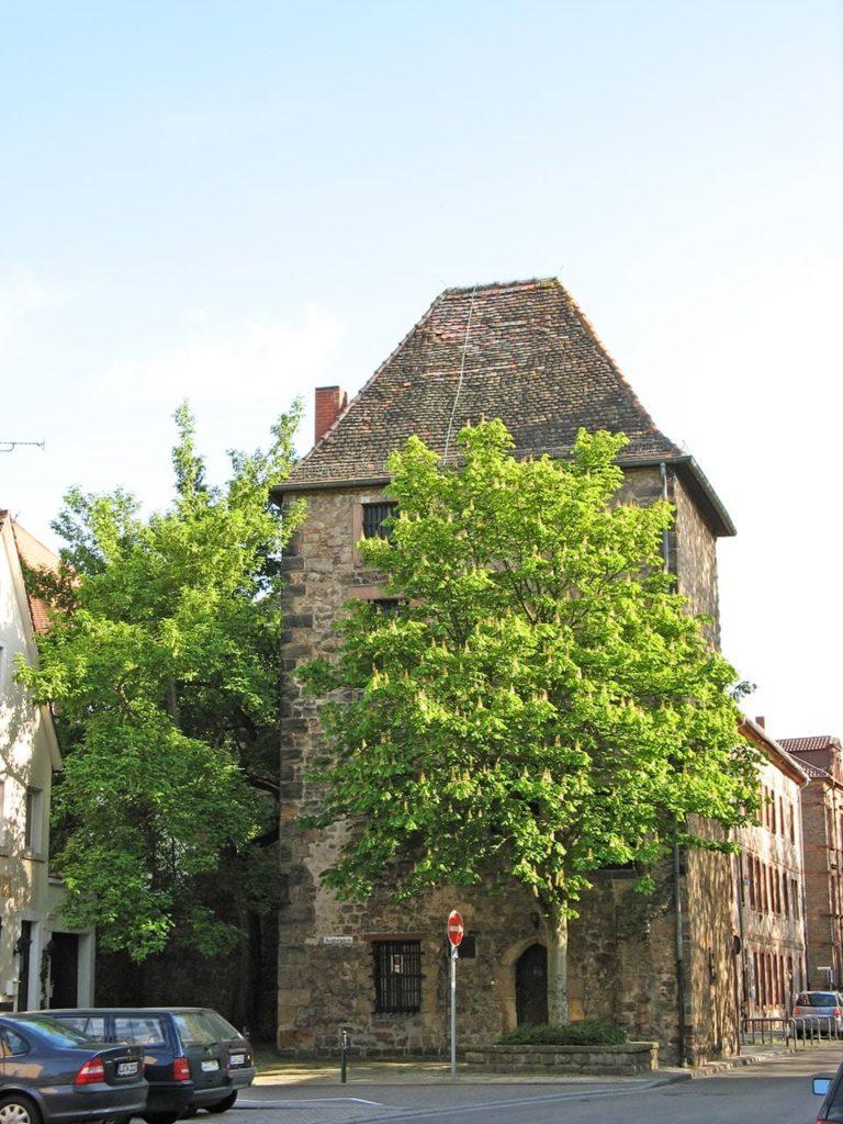 Der mittelalterliche Galeerentrum in Landau in der Pfalz