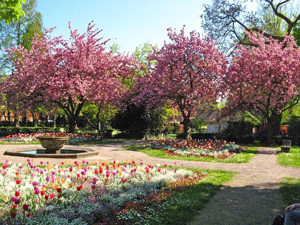 Der Schillerpark in Landau in der Pfalz