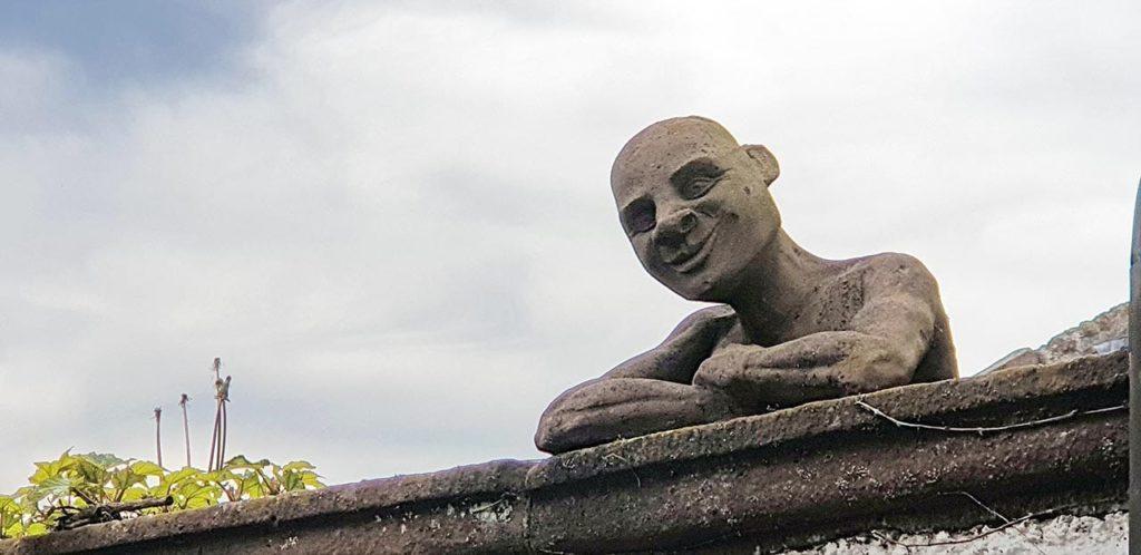 Steinskulptur in Neuleiningen