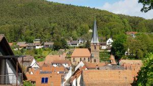 Blick auf Dörrenbach
