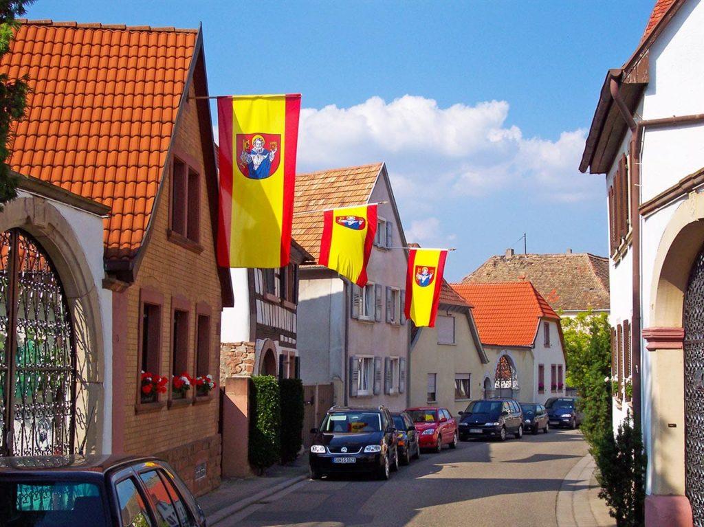 Edesheim in der Pfalz