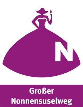 Wandertour Großer Nonnensuselweg - Wegkennzeichen