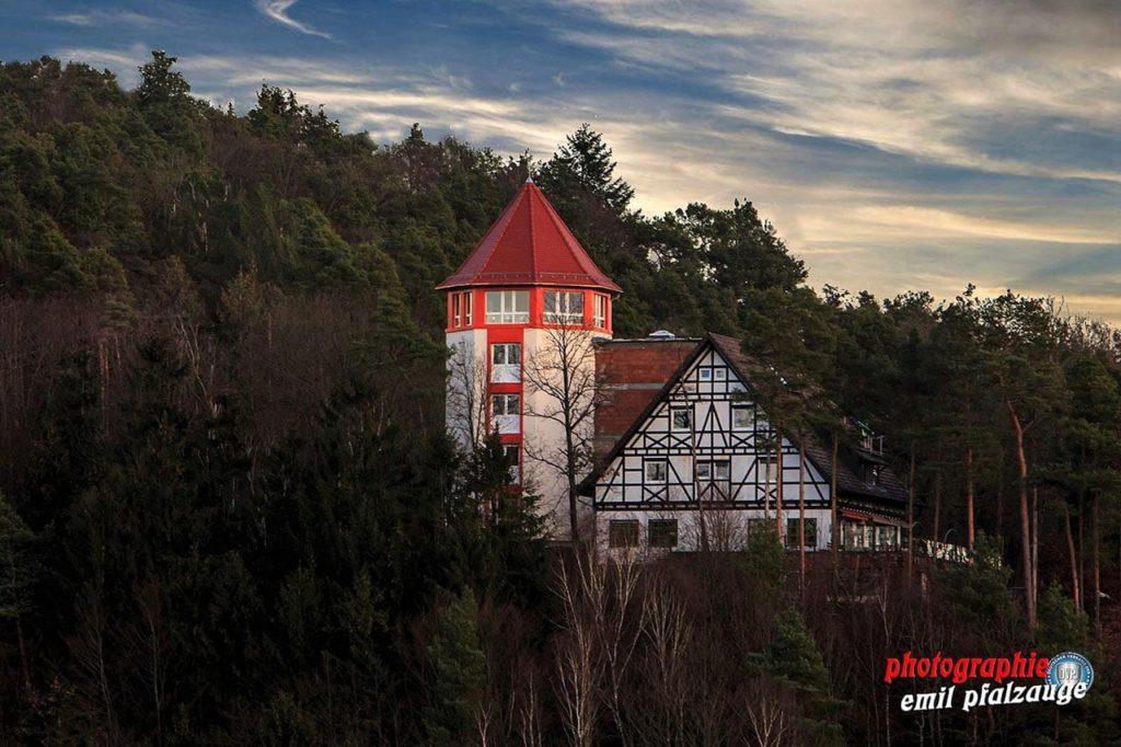 """PWV Wanderhütte """"Hilschberghaus"""" in Rodalben in der Pfalz"""