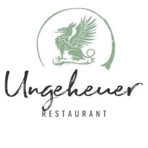 """Logo Restaurant """"Ungeheuer"""" in Forst"""