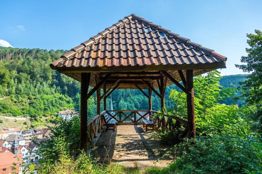 Aussichtspunkt Rehfels, Elmstein in der Pfalz - Foto: Palatina Tourer