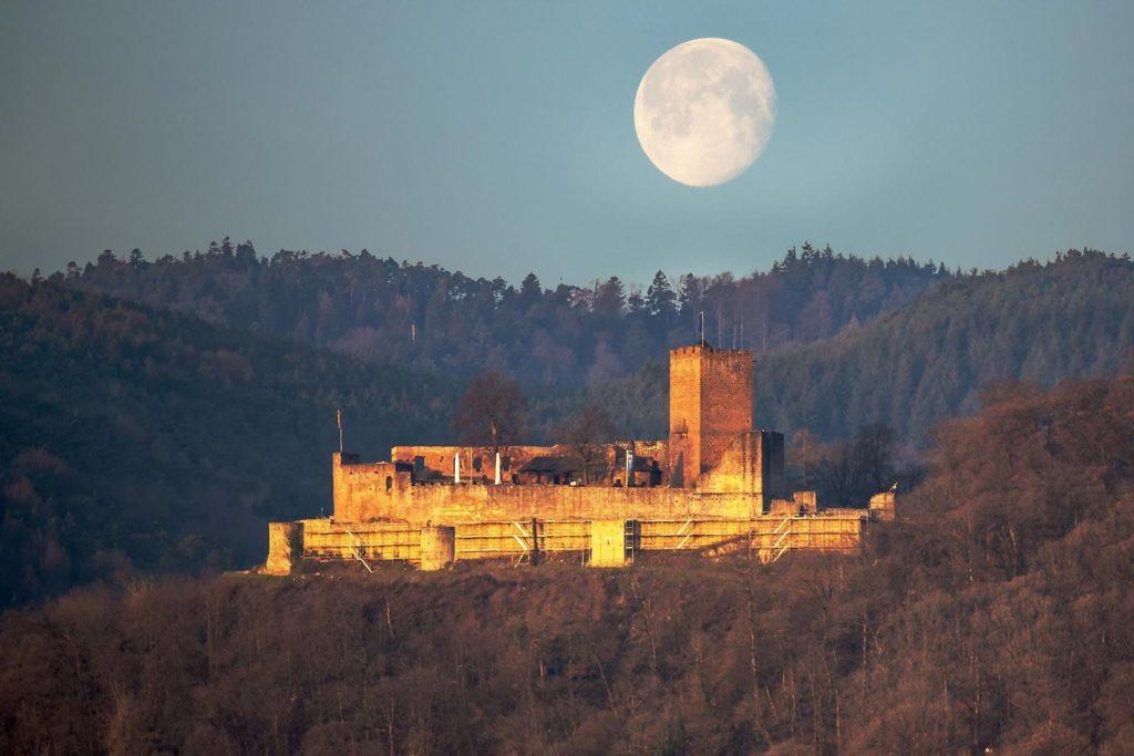 Burgruine Landeck bei Klingenmünster in der Pfalz