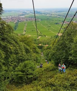 Die Rietburgbahn bei Edenkoben in der Pfalz