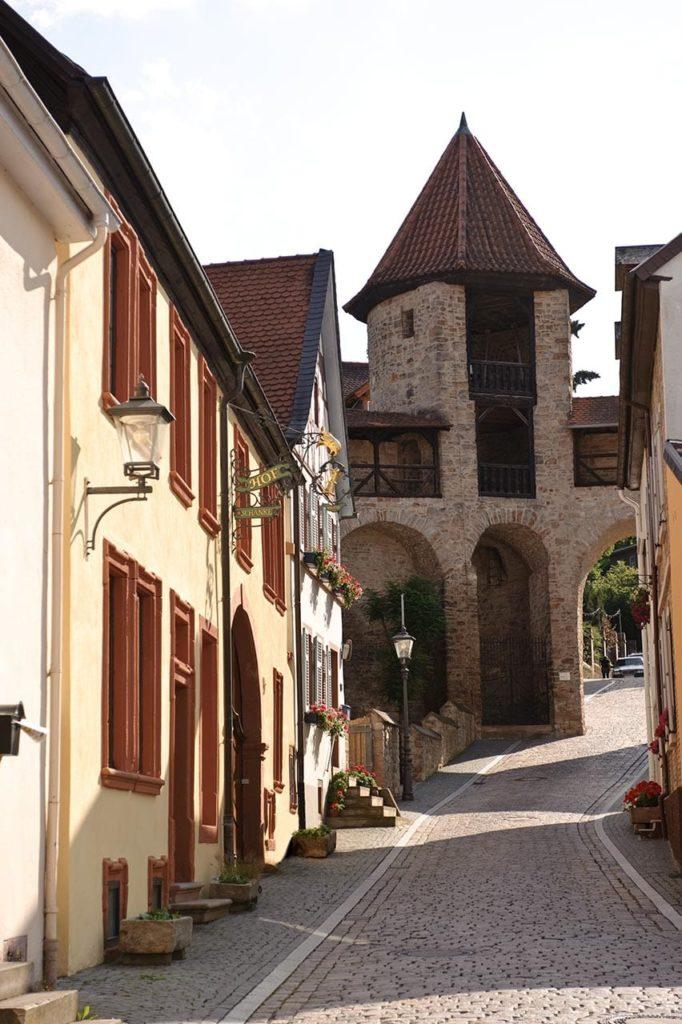 Roter Turm mit Hofschänke in Kirchheimbolanden