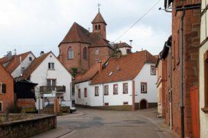 Völkersweiler in der Pfalz