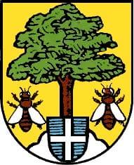 Wappen von Wörth-Büchelberg in der Pfalz