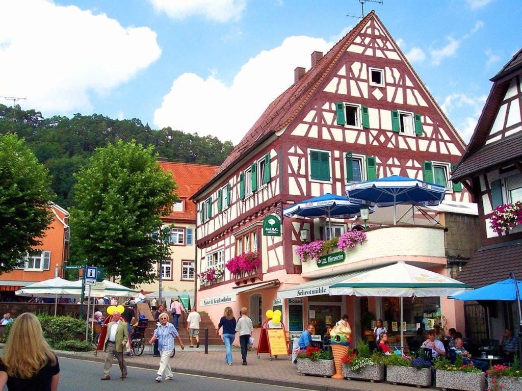 Dahn im Wasgau in der Pfalz