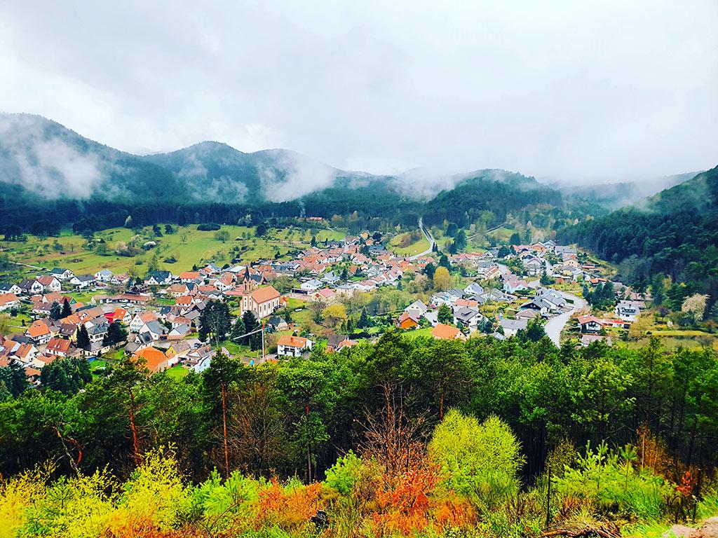 Birkenhördt in der Pfalz