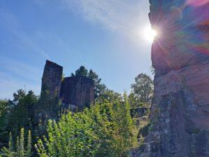 Burg Neudahn im Pfälzerwald