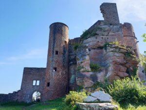 Burg Neudahn in der Pfalz